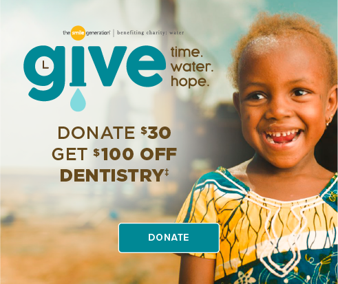 Donate $30, Get $100 Off Dentistry - Broadway Smiles Dentistry and Orthodontics